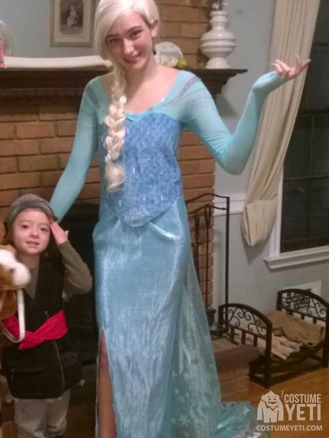Elsa'sIceGownfromFrozen