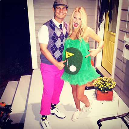 Hole in One DIY Costume