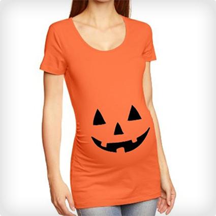 Jack O Lantern Pregnancy T-Shirt