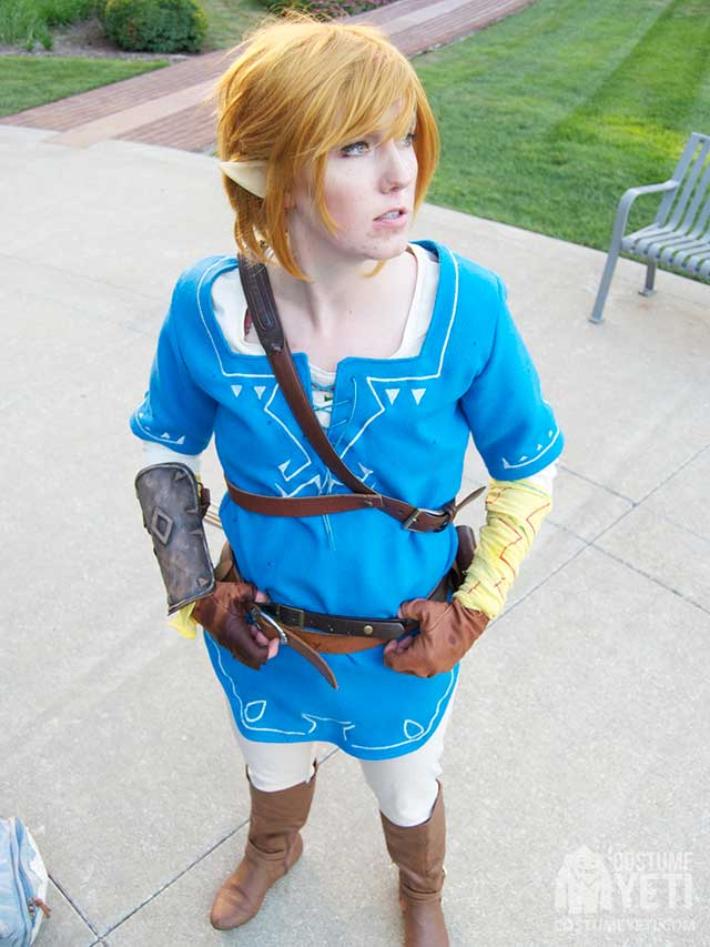 Link Costume (Inspired by Breath of the Wild)