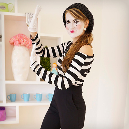 Mime Costume Make Up Tutorial