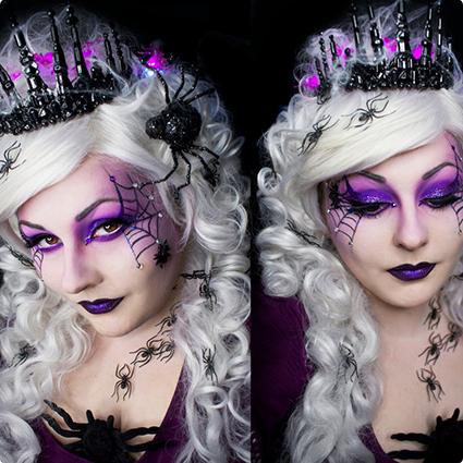 Spider Queen Make Up Tutorial