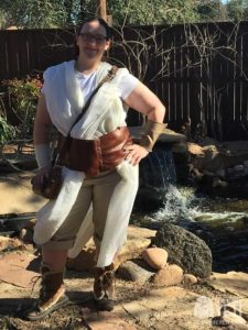 Star Wars Jedi Rey Costume
