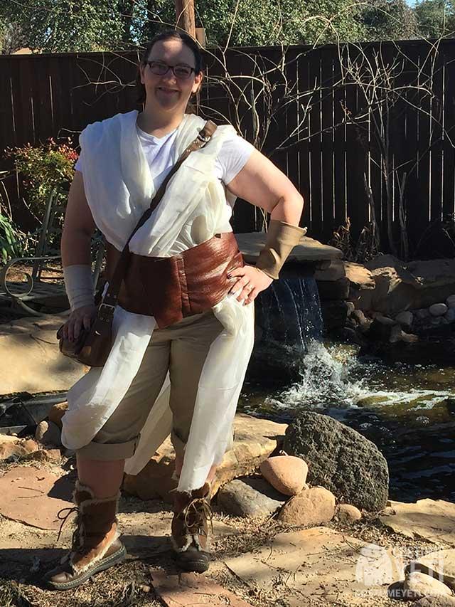 Star Wars Jedi Rey Costume