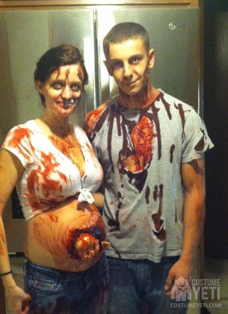 Baby Zombie Costume for pregnant Women