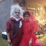 Beetlejuice and Lydia Couples Costume