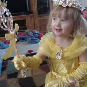 Belle Girls Princess Costume