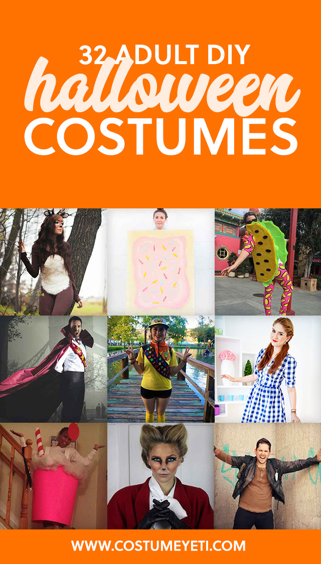 32 diy halloween costumes for adults costume yeti i love to diy my halloween costumes every year and this is my go to solutioingenieria Images