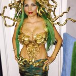 DIY Golden Medusa Costume
