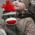 DIY Sock Monkey Kids Costume