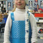 Duct Tape Frozen Queen Elsa Costume