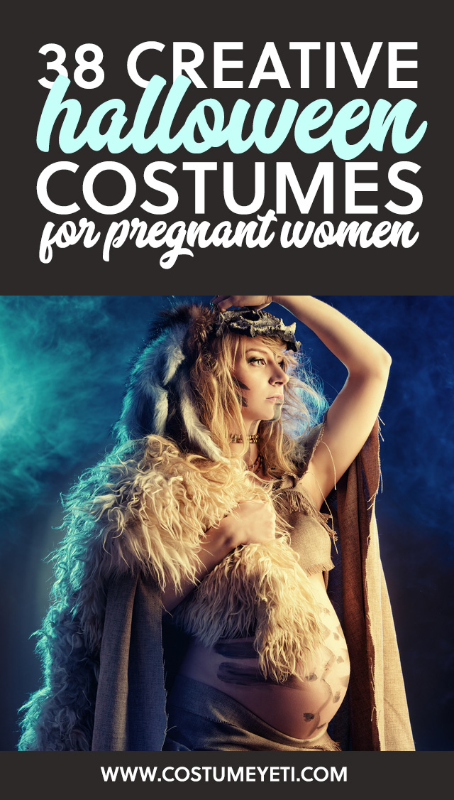 Soon to be moms… save this list! These are some really creative, unique ideas for Halloween costumes for pregnant women.