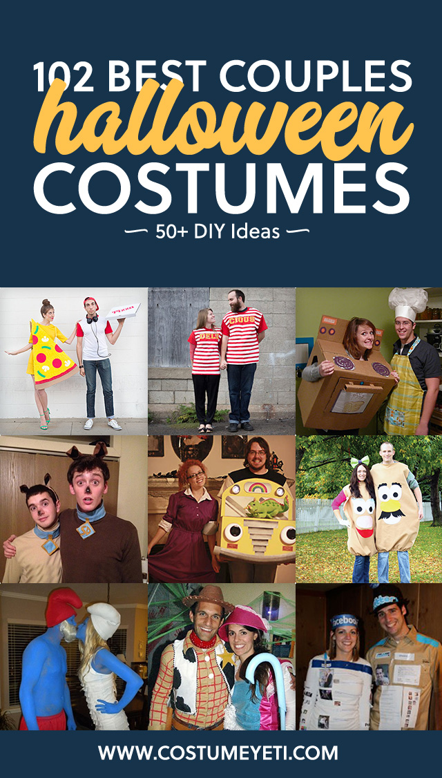 This is a great list if you are looking for unique couples costumes! So many fun ideas.