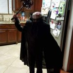 Homemade Headless Horseman Costume