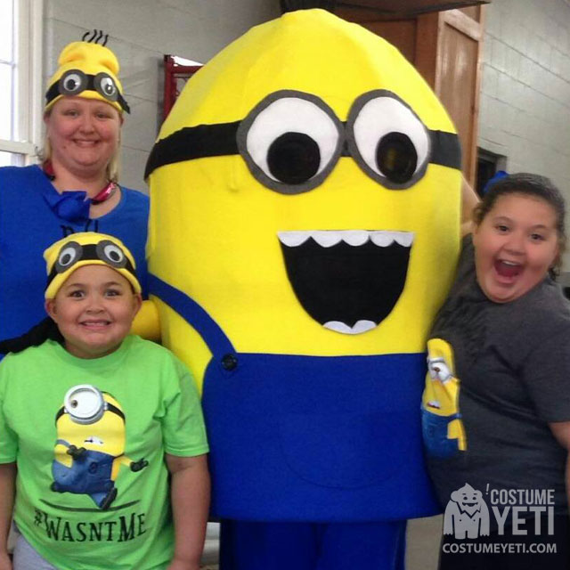 Homemade Adult Minion Costume