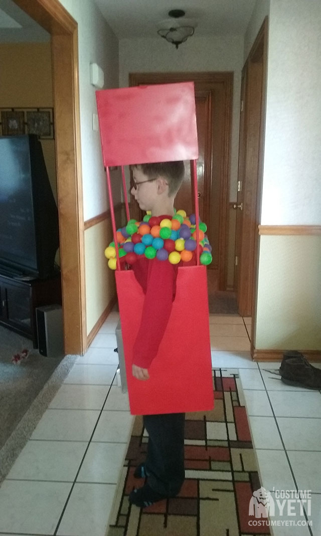 homemade gumball machinecostume