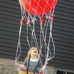 DIY Hot Air Balloon Halloween Costume