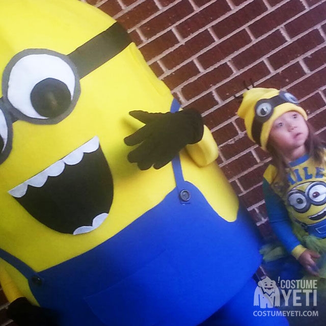 minion with child