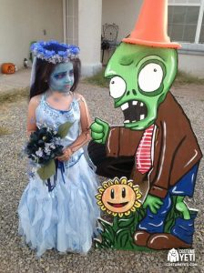 Plants vs, Zombies Pin Up Costume