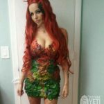 Poison Ivy Costume (Made from Fake Plants and a Glue Gun)