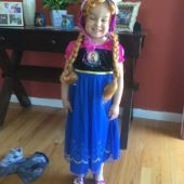 Anna from Frozen Girls Costume