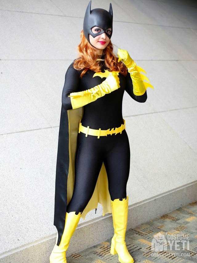 Homemade Batgirl Adult Costume Yeti