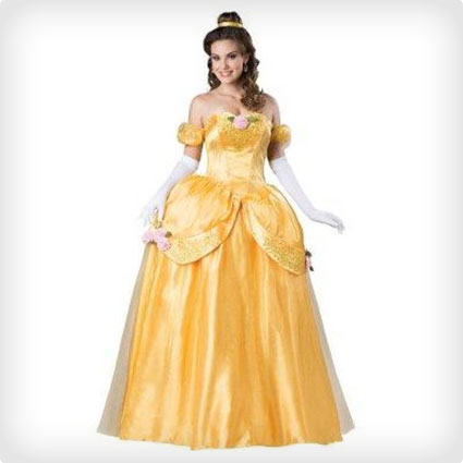 Beauty & The Beast Belle Costume