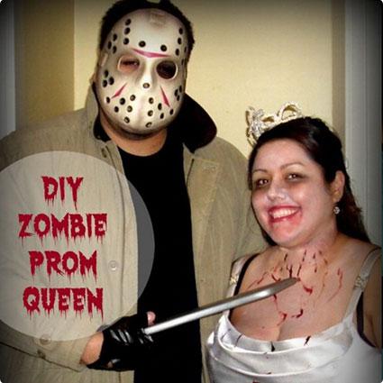 DIY Zombie Prom Queen