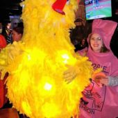 DIY Adult Big Bird Costume