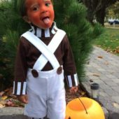 DIY Oompa Loompa Kids Costume