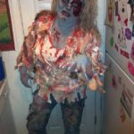 Amazing DIY Zombie Halloween Costume