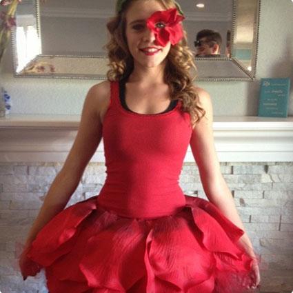 Dancing Rose  DIY Costume