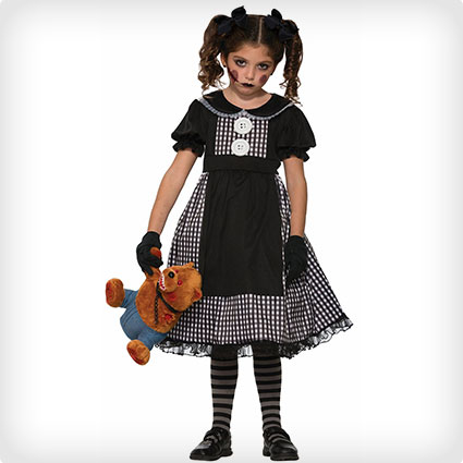 Dark Rag Doll Costume