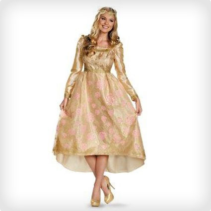 Deluxe Princess Aurora Coronation Gown
