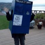 Duct Tape Tardis Costume