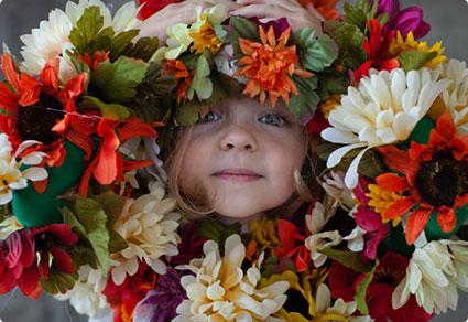 Field of Flowers Costume DIY