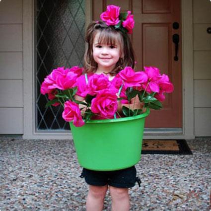 Flower Pot Costume DIY