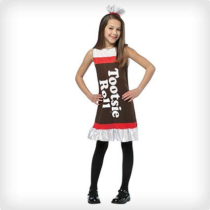 Girl Tootsie Roll Costume