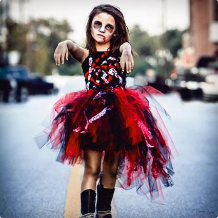 Girls Zombie Costume
