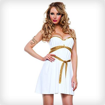 Glamorous Goddess Sexy Halloween Costume