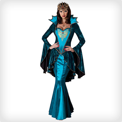 Glamorous Medieval Queen Costume