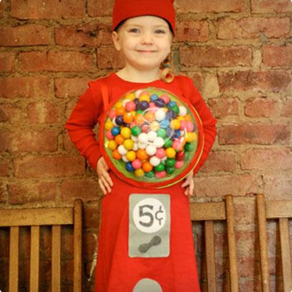 Gumball Machine Costume DIY
