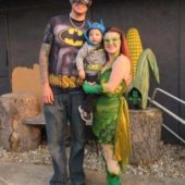 Hero vs Villain Family Costume