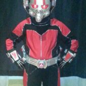 DIY Ant Man Kids Costume