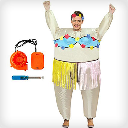 Inflatable Hula Dancer Costume