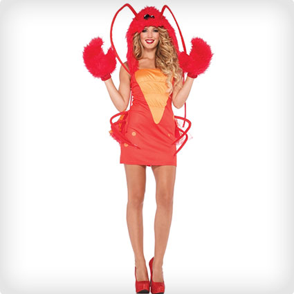 53 most creative halloween costumes for women costume yeti lobster outfit solutioingenieria Images