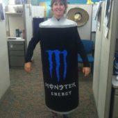 Monster Energy Drink Costume