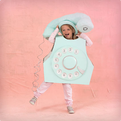 Retro Rotary Phone Costume