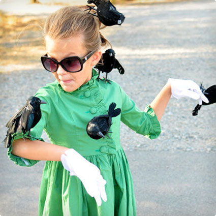 The Birds Costume DIY