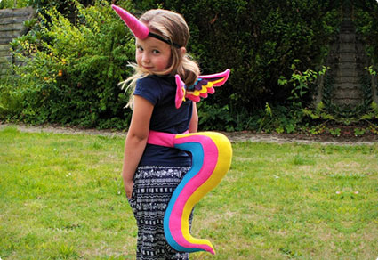43 clever halloween costumes for kids costume yeti unicorn costume solutioingenieria Image collections